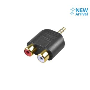 MONSTER ADAPTER JACK AUDIO 3.5 MM TO DUAL RCA FEMALE