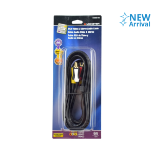 MONSTER KABEL AUDIO VIDEO RCA 1.8 M