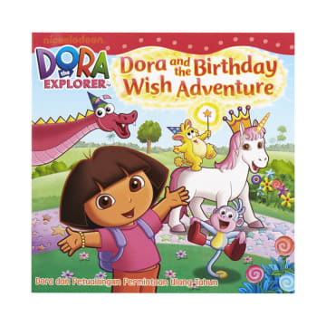 DORA THE EXPLORER BUKU CERITA BIRTHDAY WISH ADVENTURE_1