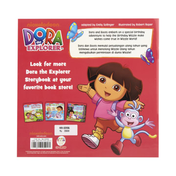 DORA THE EXPLORER BUKU CERITA BIRTHDAY WISH ADVENTURE_3