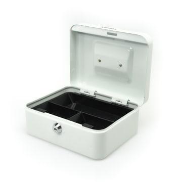 KRISBOW CASH BOX 20 CM - PUTIH_2