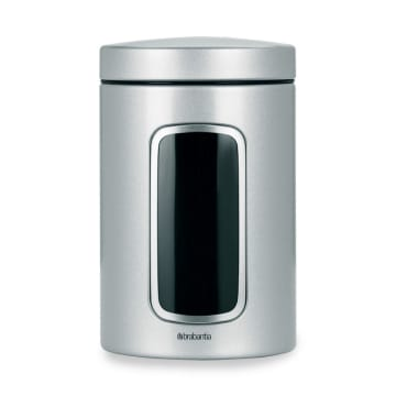 BRABANTIA STOPLES STAINLESS 1.4 LTR - SILVER_1