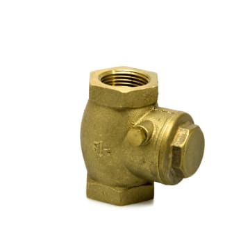 KRIS BRASS SWING CHECK VALVE 1 INCH_2