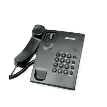 KRISBOW TELEPON BASIC SKH-304 - HITAM_3
