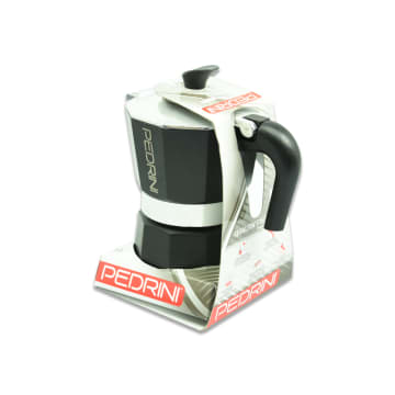 PEDRINI COFFEE MAKER 3 CUP - HITAM_3