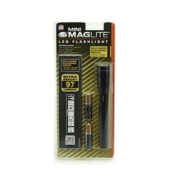 MAGLITE SP2201H SENTER LED MINI MAG HANGPACK AA - BLACK_1