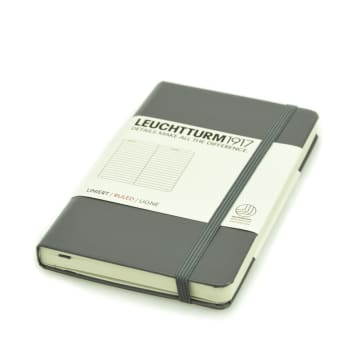 LEUCHTTURM NOTEBOOK GARIS A6 - ANTHRACITE_2