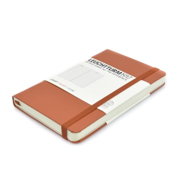 LEUCHTTURM NOTEBOOK GARIS A6 - MERAH_2