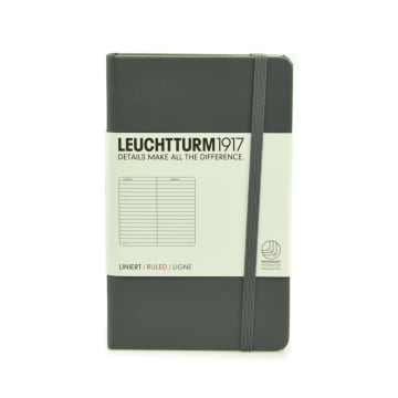 LEUCHTTURM NOTEBOOK GARIS A6 - ANTHRACITE_1