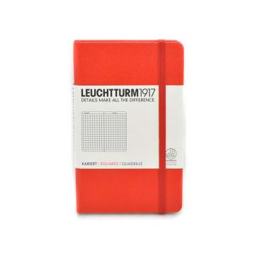 LEUCHTTURM NOTEBOOK KOTAK A6 - MERAH_1