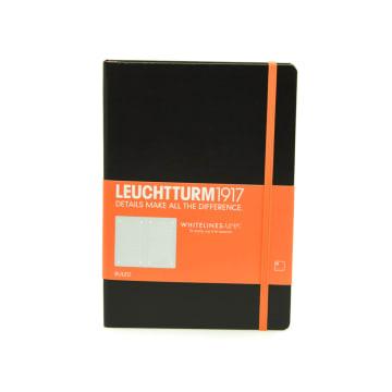 LEUCHTTURM NOTEBOOK GARIS A5 - HITAM_1