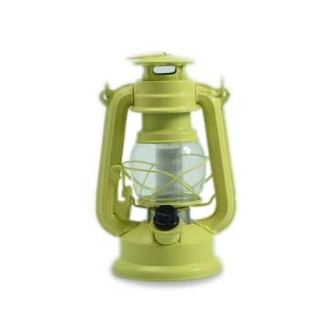 SOLEIL HURRICANE LAMPU LENTERA 12 LED - HIJAU_1