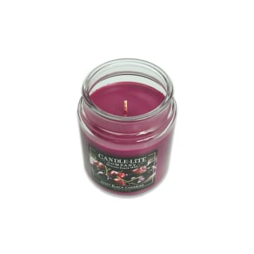 CANDLE LITE BLACK CHERRIES LILIN AROMATERAPI 510 GR_2