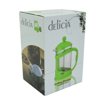 DELICIA PEMBUAT KOPI DAN TEH FRENCH PRESS 800 ML - HIJAU_3