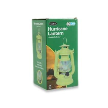 SOLEIL HURRICANE LAMPU LENTERA 12 LED - HIJAU_3