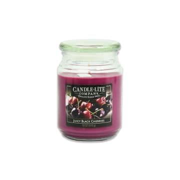 CANDLE LITE BLACK CHERRIES LILIN AROMATERAPI 510 GR_1