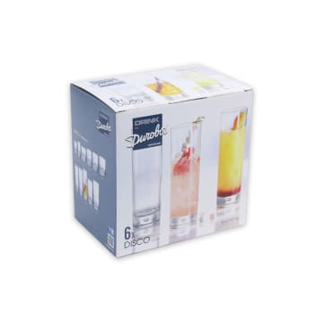 DUROBOR DISCO SET GELAS 300 ML 6 PCS_3