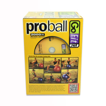 GO FIT PROBALL BOLA FITNESS 65 CM - MERAH_2