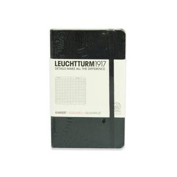 LEUCHTTURM NOTEBOOK KOTAK A6 - HITAM_1