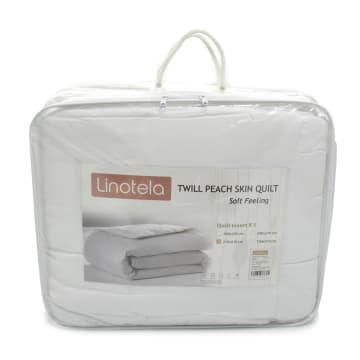 LINOTELA QUILT INSERT TWILL PEACH SKIN 210X210 CM_2