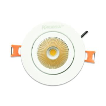 KRISBOW LAMPU SOROT LED ADJUSTABLE 5W 38D 3000K - WARM WHITE_1