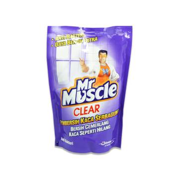 MR MUSCLE CLEAR PEMBERSIH KACA ANTIBAKTERI ISI ULANG_1