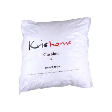 KRISHOME BANTAL SOFA 45X45 CM - PUTIH_1