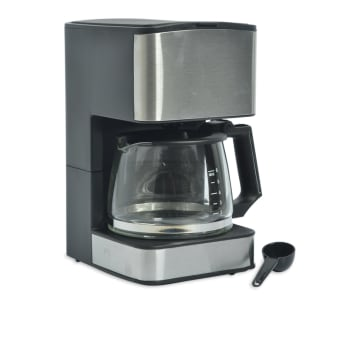 EMERIO COFFEE MAKER 0, 8 LITER  - SILVER_2