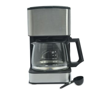 EMERIO COFFEE MAKER 0, 8 LITER  - SILVER_1