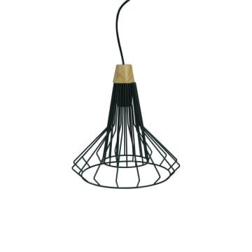 CARSON LAMPU GANTUNG HIAS 30X103 CM - HITAM_1