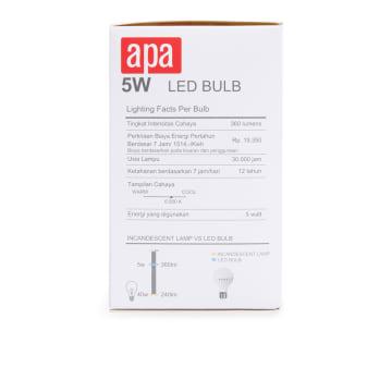 APA BOHLAM LED 5W 6500K - COOL DAYLIGHT_2