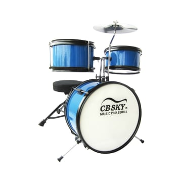 CBSKY MAINAN DRUM SET ANAK 5 PCS - BIRU_1
