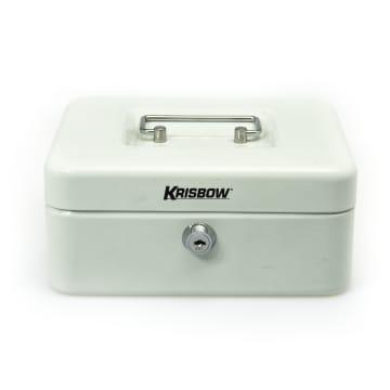 KRISBOW CASH BOX 20 CM - PUTIH_1