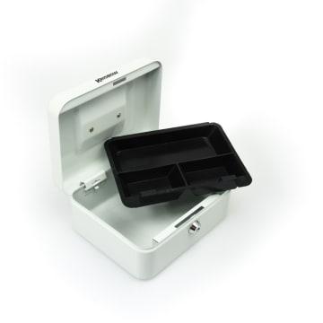 KRISBOW CASH BOX 20 CM - PUTIH_3
