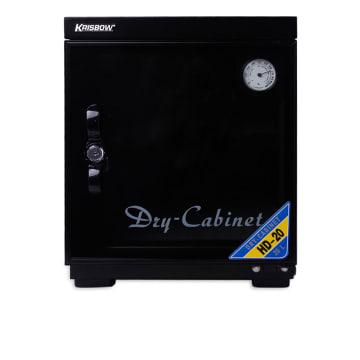 KRISBOW DRY CABINET 30X30X37 CM - HITAM_1