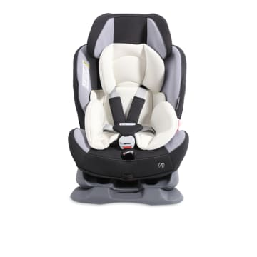 AILEBEBE ZUTTO BABY CAR SEAT 3 STYLE - HITAM ABU-ABU_1