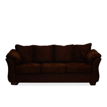 ASHLEY DARCY SOFA 3 DUDUKAN - COKELAT TUA_1