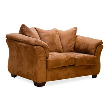 ASHLEY DARCY SOFA 2 DUDUKAN - COKELAT_2