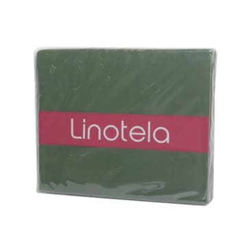 LINOTELA TWO TONE DUVET COVER KING BED - TEAL YELLOW_3
