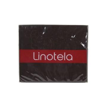 LINOTELA TWO TONE DUVET COVER SINGLE BED - PETAL BROWN_3