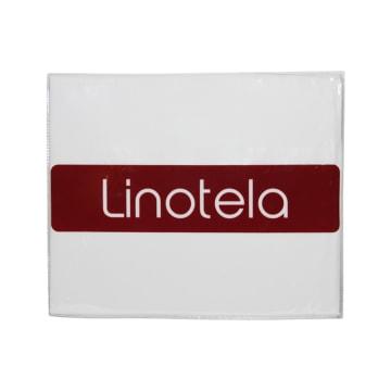 LINOTELA TWO TONE DUVET COVER 160X210 CM - PUTIH_2