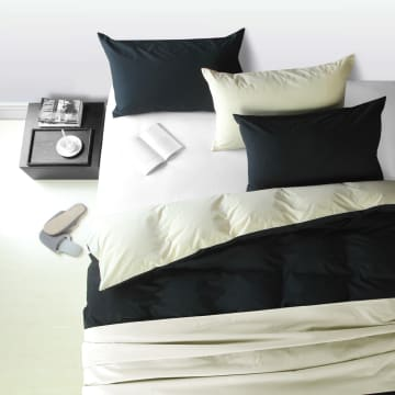LINOTELA TWO TONE DUVET COVER SINGLE BED - VOGUE YELLOW_1