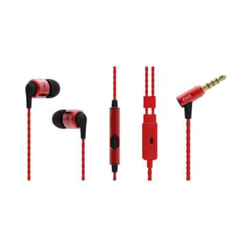 SOUNDMAGIC IN-EAR HEADPHONE E 80S- MERAH_1