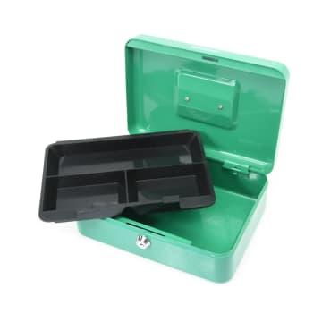 KRISBOW CASH BOX 25 CM - HIJAU_3
