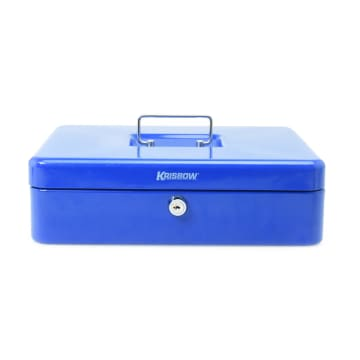 KRISBOW CASH BOX 30 CM - BIRU_1