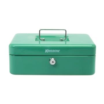 KRISBOW CASH BOX 25 CM - HIJAU_1