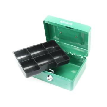KRISBOW CASH BOX 15 CM - HIJAU_3