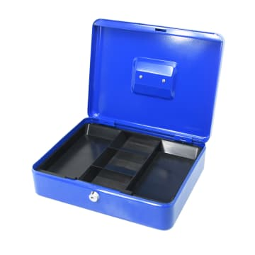 KRISBOW CASH BOX 30 CM - BIRU_2
