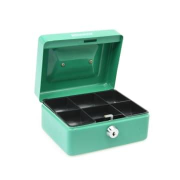 KRISBOW CASH BOX 15 CM - HIJAU_2