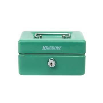 KRISBOW CASH BOX 15 CM - HIJAU_1
